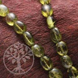 Chromdiopsid Halskette