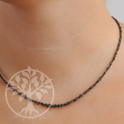 Diamond Necklace Black