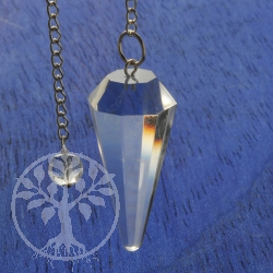 Rock Crystal Pendulum 2