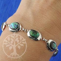 Nacre Bracelet blue
