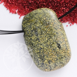 Snakeskin Jasper Pendant Rectangled