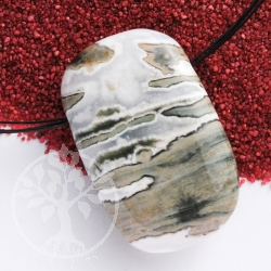 Ocean Jasper Pendant Rectangled