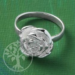 ring silber rose