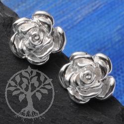 Earring Little Rose Silver 925