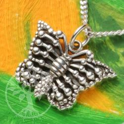 Silber Anhänger Butterfly Silber 925