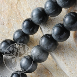 Black Moonstone Gemestone Beads