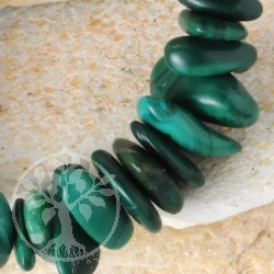 Malachite Bead Bracelet Splitter BIG