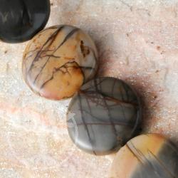 Polychronik Perlen Spider Frisbee