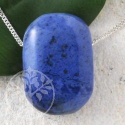 Dumortierite Pendant Rectangled