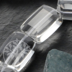 Crystal Rectangle Beads Faceted