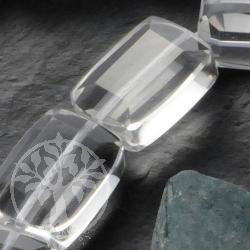 Bergkristall Rechteck Perlen Facettiert