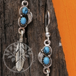 Turquoise Earrings Indian Jewelry