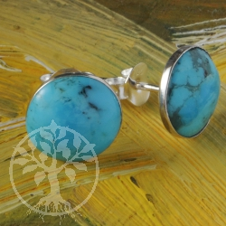 Turquoise Earrings round