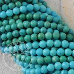 Türkis Perlen Kugel A-Qualität