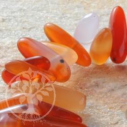 Carnelian Bead Bracelet Mahaba