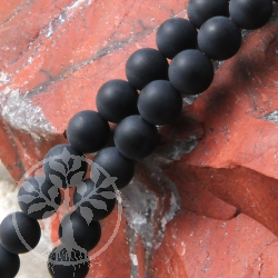 Obsidian Ball Beads Soft