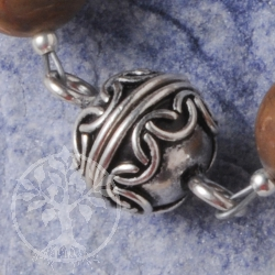 Magnetic Clasp Ball oxidized