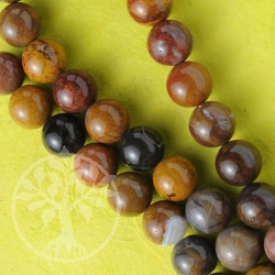 Ball Beads Jasper Gemstone 12mm 40cm