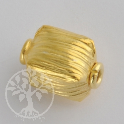 Handmade Bead Gold Plated