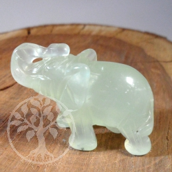 Edelstein Elefant China Jade