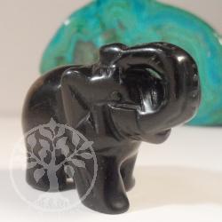 Onyx Gemstone Elephant