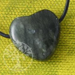 Serpentine Heart Pendant