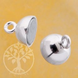 Magnetic clasp little ball 8 mm 3 pieces