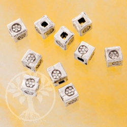 Cubes Silver Bead 925 Cube