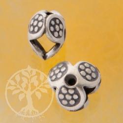 Silber Zwischenteil Blume