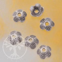Perlkappe Echt Silber Hula