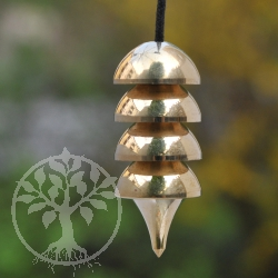 Osiris Pendulum gold colored