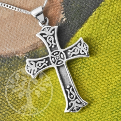 Silver Cross Celtic Flair