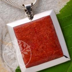 Korallen Anhaenger Silber 925
