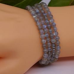 Labradorite Bracelet Round 5 mm Beads