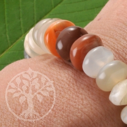 Mondstein Armband Bunt