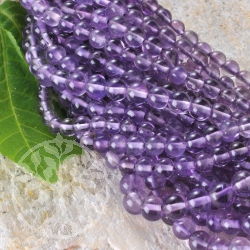 Amethyste Gemstone Ball Beads