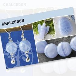 Chalcedon Mineral Stone Description Cards