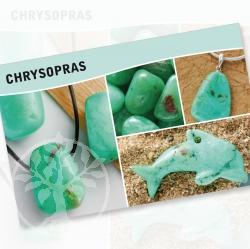 Chrysopras Steine Karte