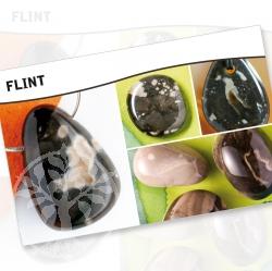 Flint Mineral Stone Description Cards