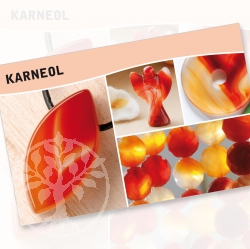 Karneol Mineral Stone Description Cards
