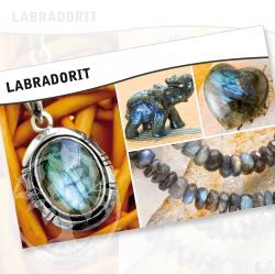 Labradorit Steine Karte
