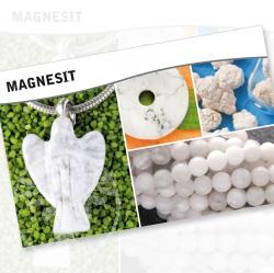 Magnesit Mineral Stone Description Cards