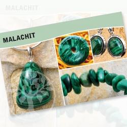 Malachit Steine Karte