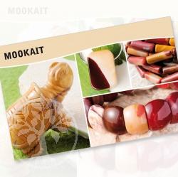 Mookait Mineral Stone Description Cards