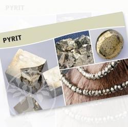 Pyrit Mineral Stone Description Cards
