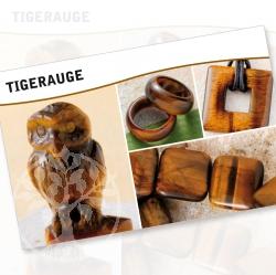 Tigerauge Mineral Stone Description Cards
