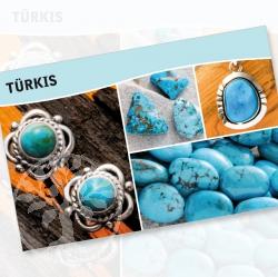 Tuerkis Mineral Stone Description Cards