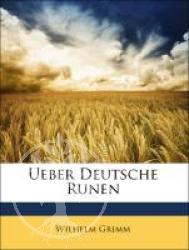 Ueber Deutsche Runen