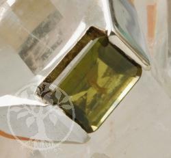 Peridote Silver Ring