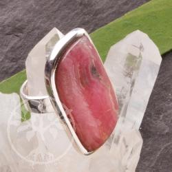 Rhodochrosit Silber Ring
